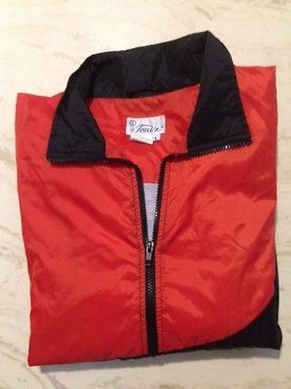 Men's Tonix  Nylon Windbreaker L Orange/Black