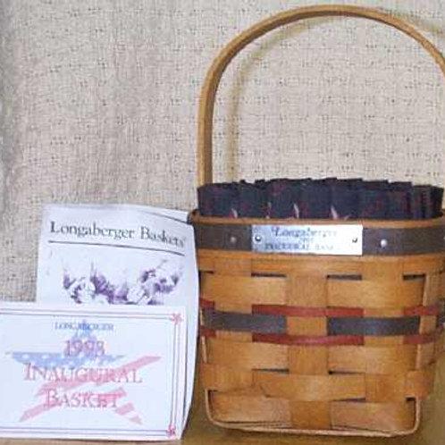 1993 Longaberger Inaugural Basket