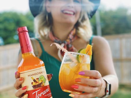 Celebrate Summer with a Pineapple Coconut Mangonada!