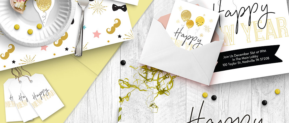 New Years Eve Printable Party Pack