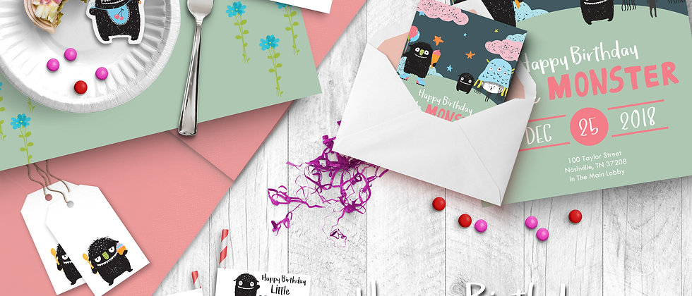Girl BirthdayPrintable Party Pack
