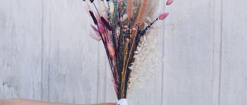 Dried Pastel Bouquet