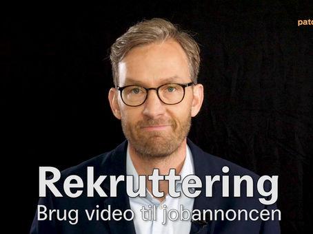 Se video: Rekruttering - brug video til jobannonce