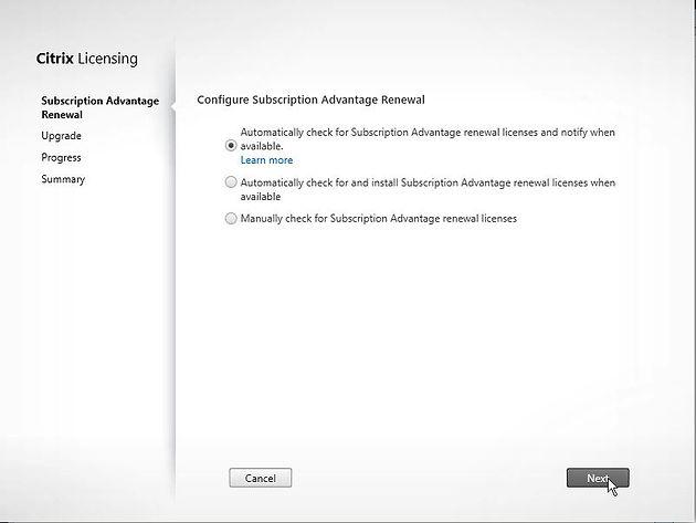 Citrix XenApp/XenDesktop 7 13 Upgrade License Server