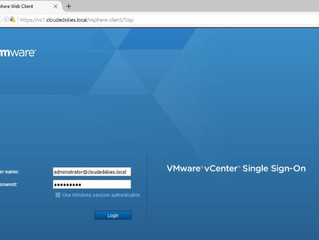 VMware vCenter Server 6.0 Creating a DRS and HA Cluster