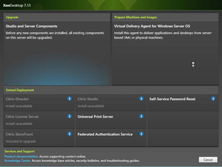 Citrix XenApp/XenDesktop 7.13 Upgrade StoreFront