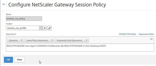 Citrix NetScaler Gateway 11 1 Configure ICA Only Remote Access