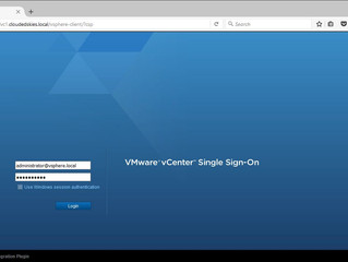 VMware vCenter Server 6.0 Configuring AD, Adding a Role and Granting User Access