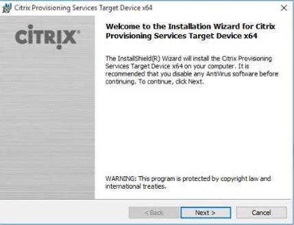 Citrix XenApp/XenDesktop 7 13 Upgrade Provisioning Services Target