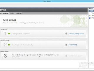 Creating the First Citrix XenApp/XenDesktop 7.7 Delivery Group