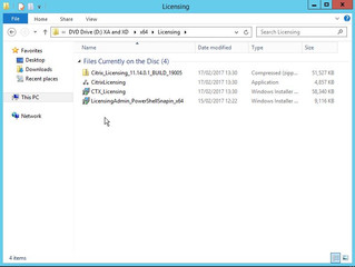 Citrix XenApp/XenDesktop 7.13 Upgrade License Server
