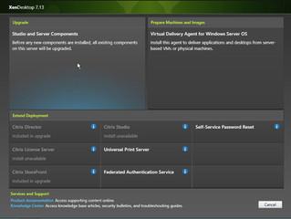 Citrix XenApp/XenDesktop 7.13 Upgrade Director