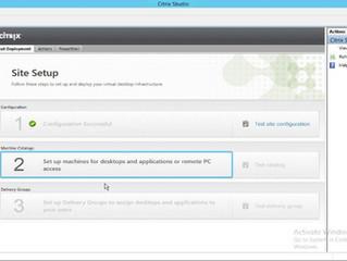 Creating the First Citrix XenApp/XenDesktop 7.7 Machine Catalog