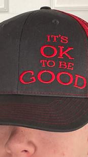 Ok to be Good Hat IMG_3388.jpg
