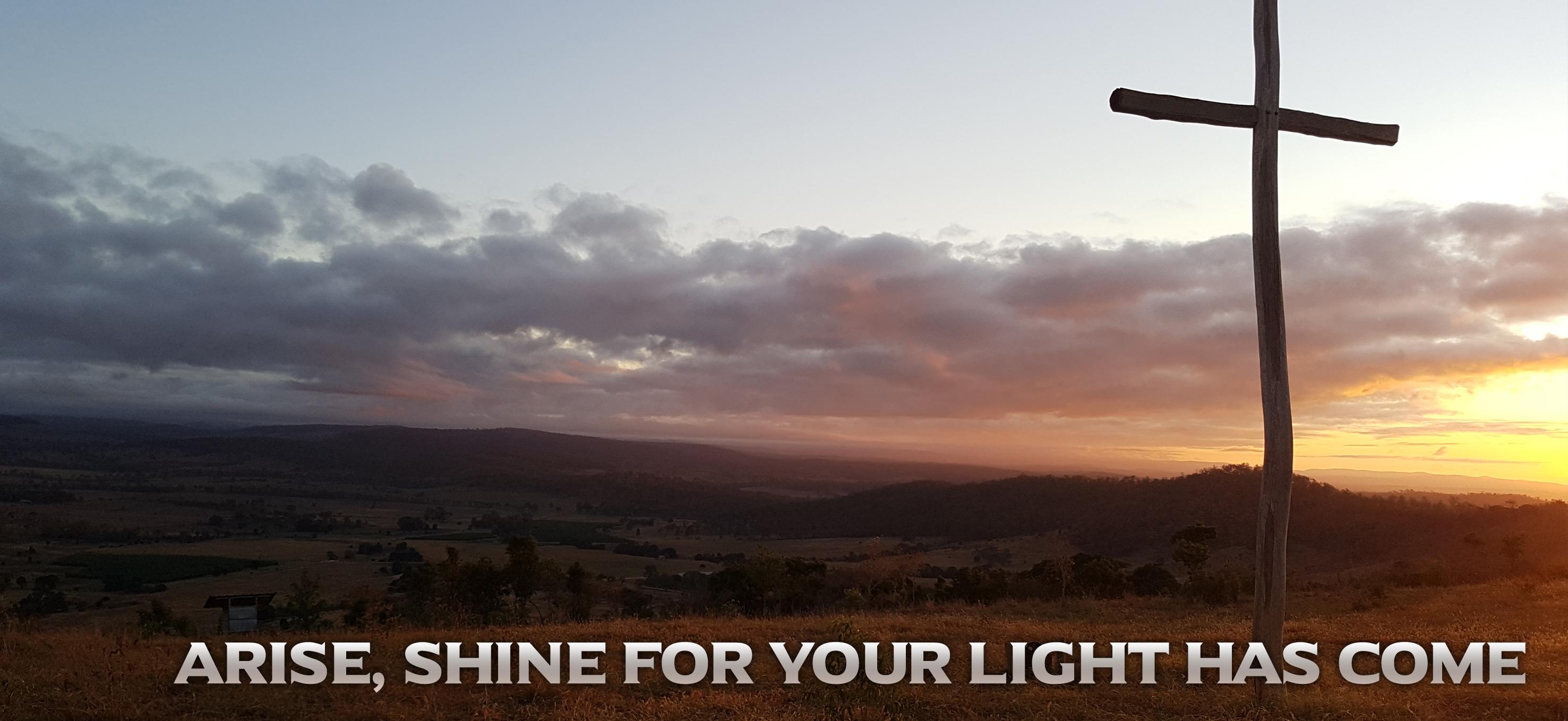 Arise Shine Banner.2