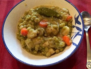 Split Pea Soup With Carrots and Parsnips