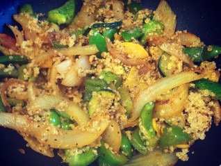 Curry Quinoa and Seasonal Vegetables