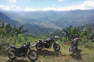 Odyssey Motorcycle Colombia Rental Jardi