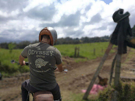 Odyssey Motorcycle Colombia t-shirt