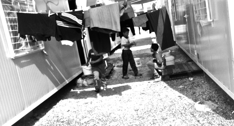 Skaramangas Refugee Camp, Athens, Greece