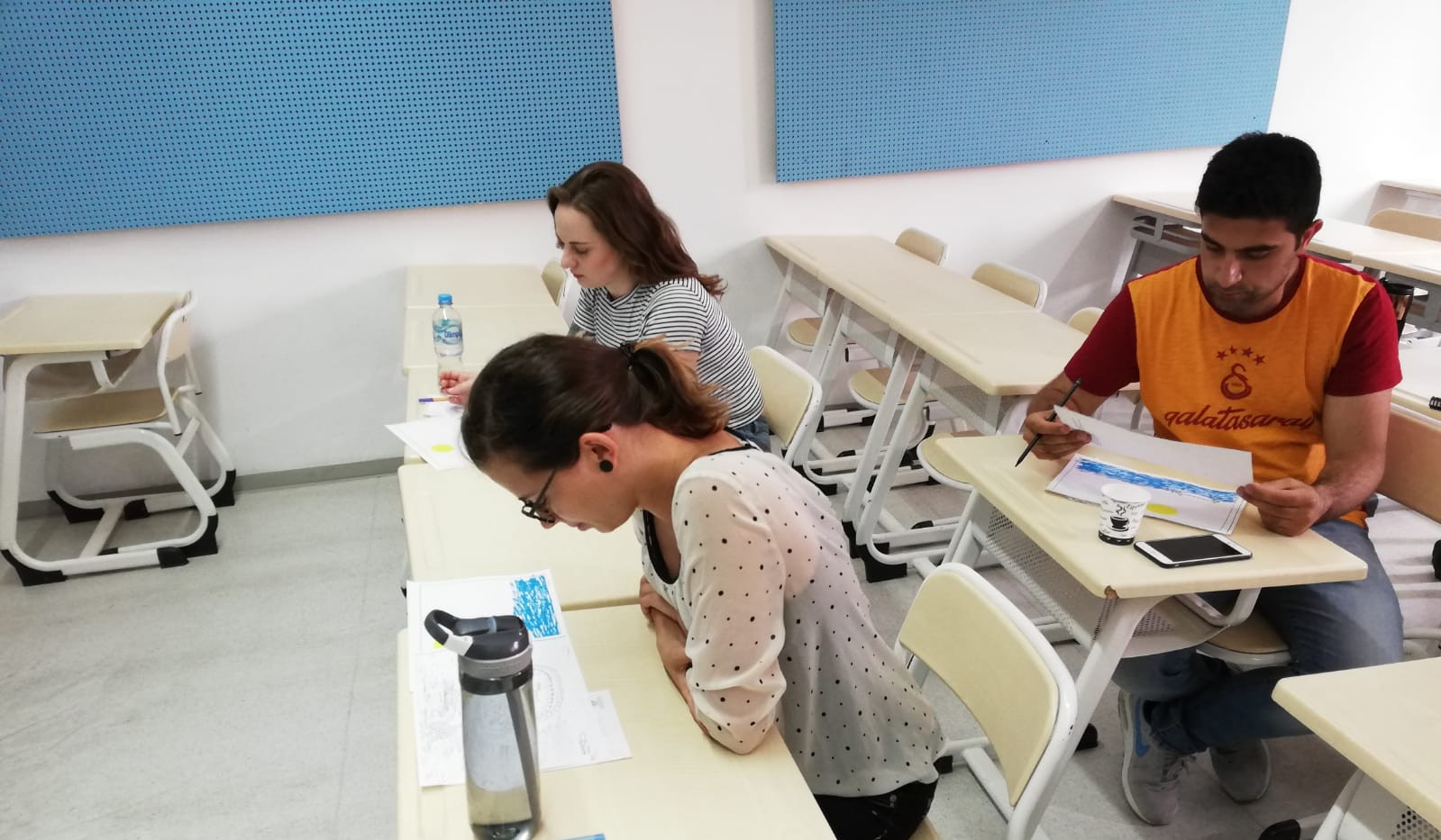 Students are learning about equality and diversity at the International University of Sarajevo/Balkan Studies Centre.