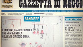 YTT Human-Rights & Gender-Equality Programs profiled in Italian Press & at Flags4Rights Exhibition: