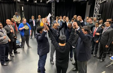 Police Officers are participating in exercises on inclusion that promotes equality and fundamental human-rights at a YTT Learning Approach training program.