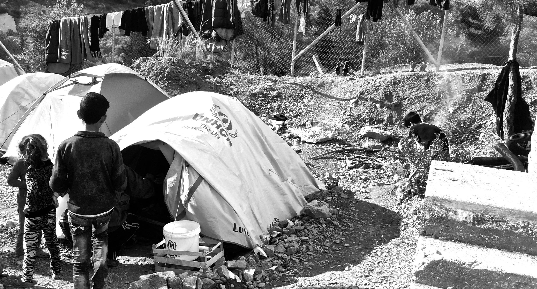 Kara Tepe Refugee Camp, Samos Island, Greece
