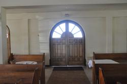 Inside - Back Door