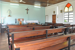 Inside - Angled View of Church