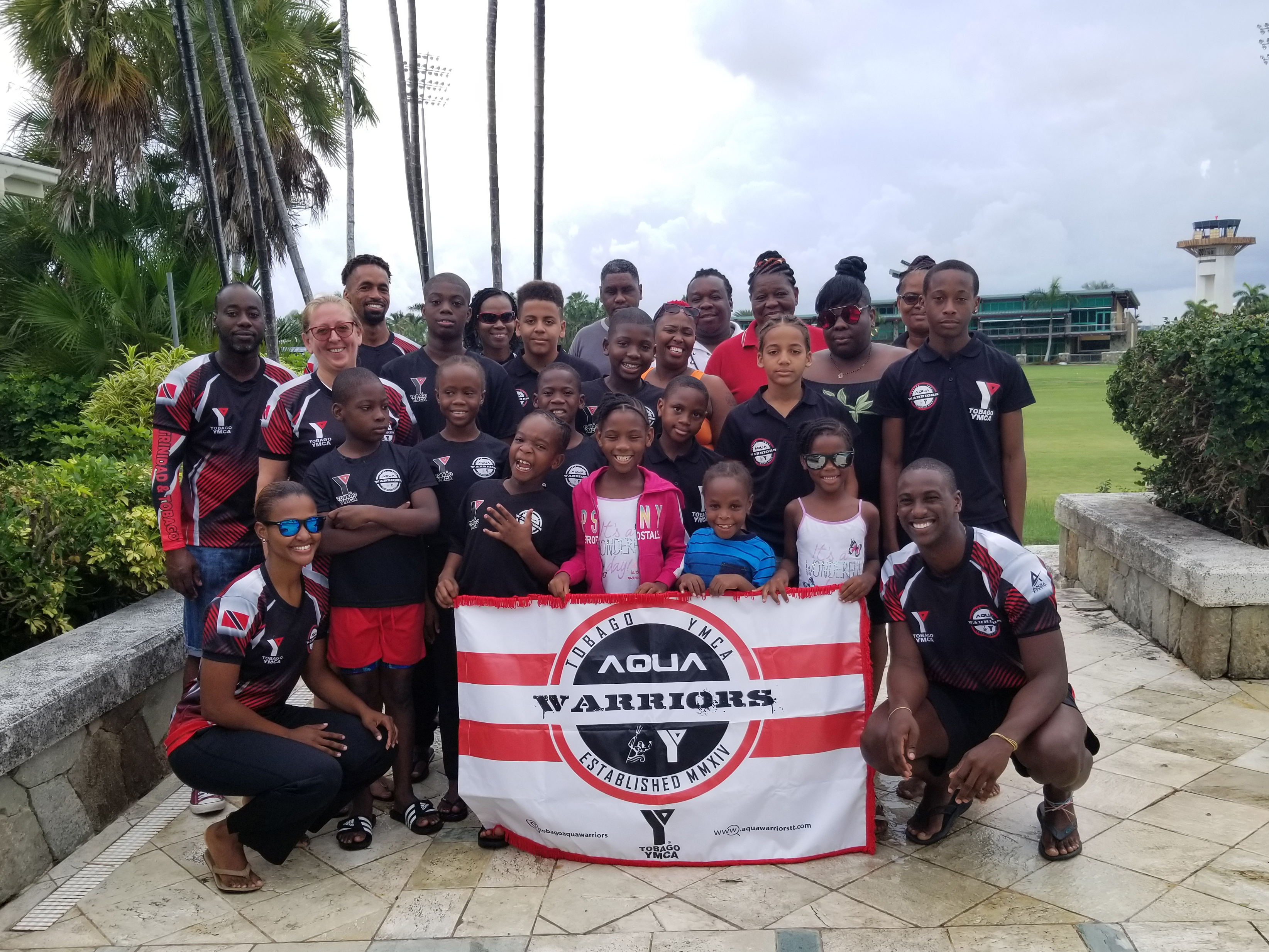 Tobago YMCA Aqua Warriors in Antigua