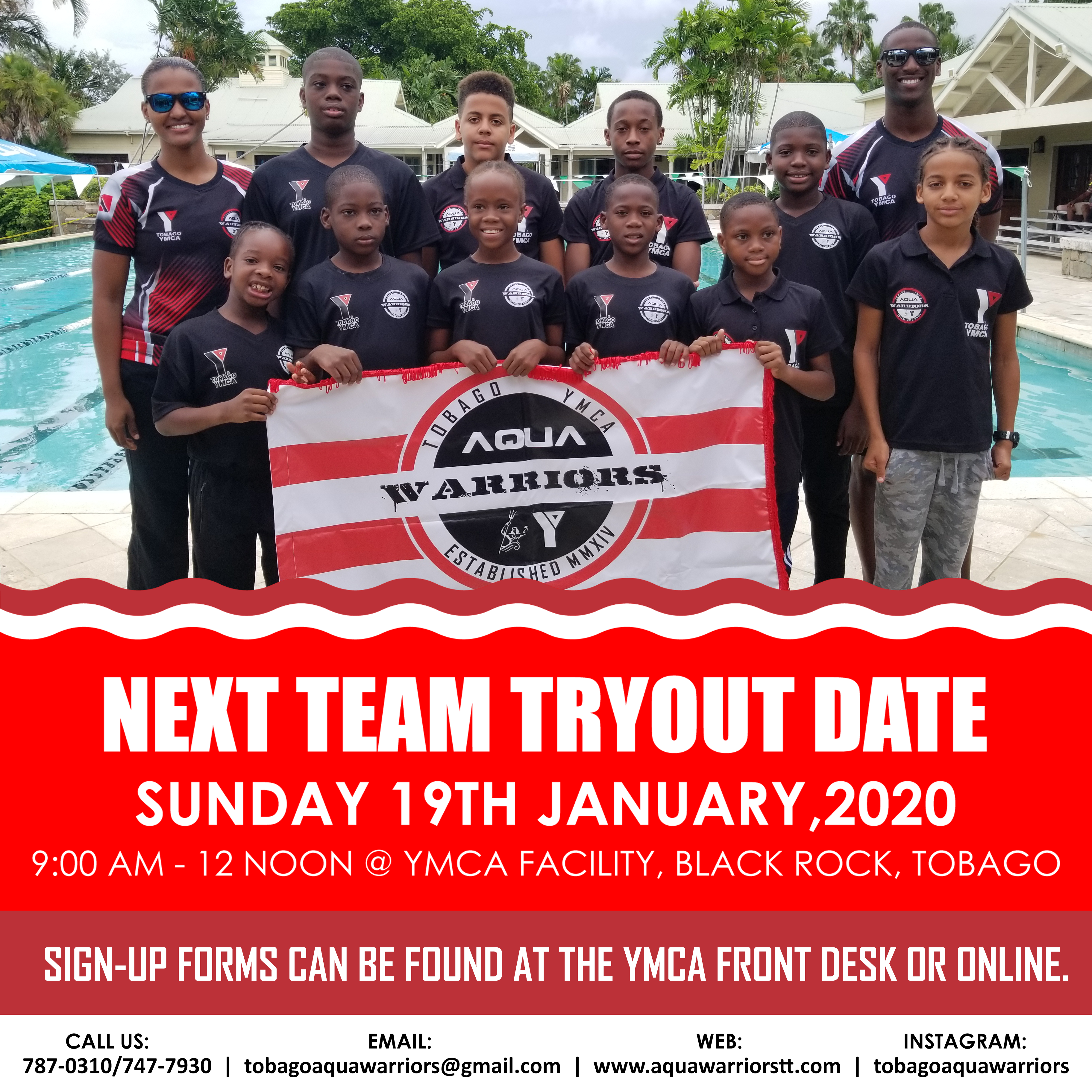 AQUA WARRIORS TRYOUTS - IG