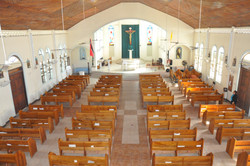 Inside - View of Alter from Loft