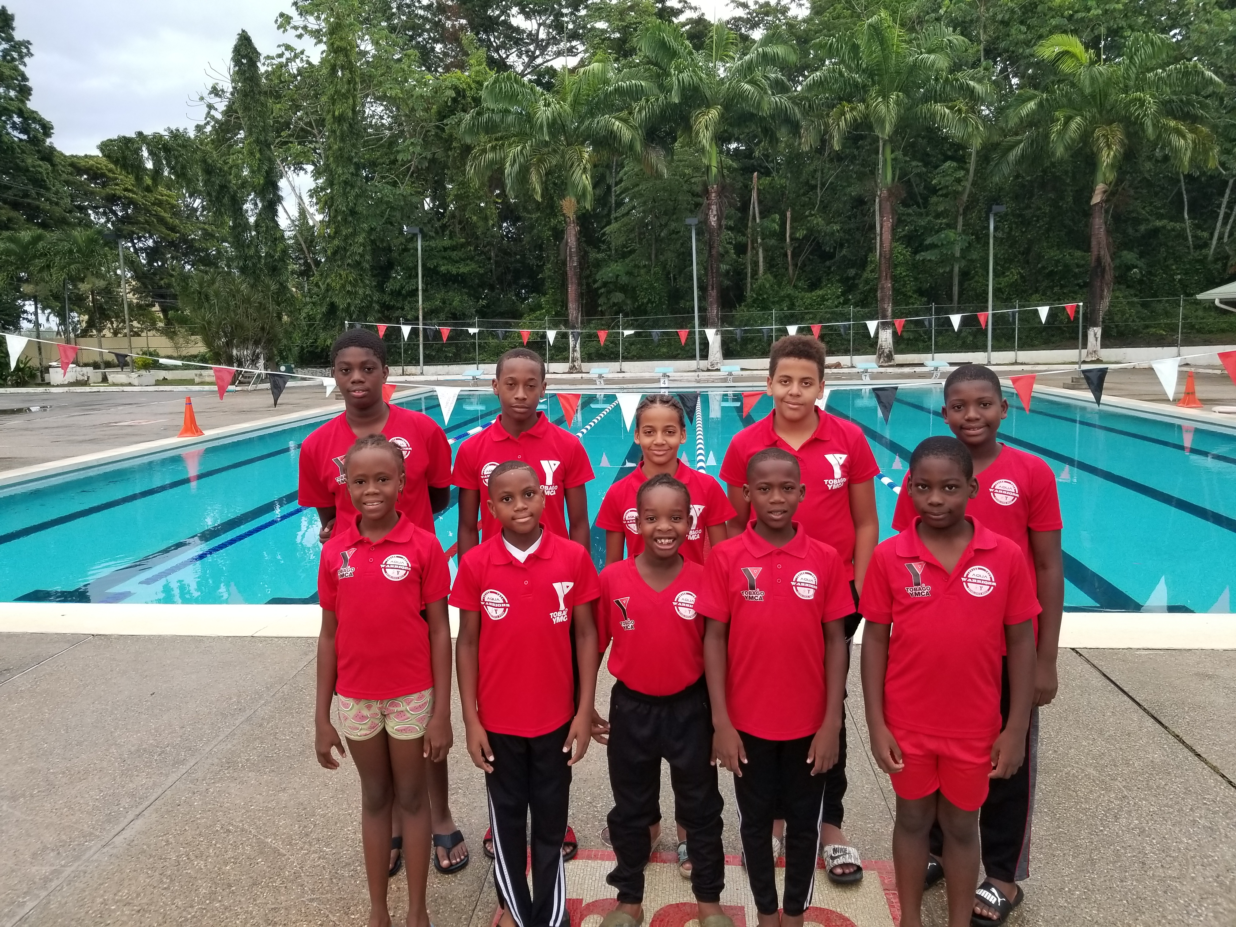 Tobago AQUA WARRIORS - ANTIGUA TEAM