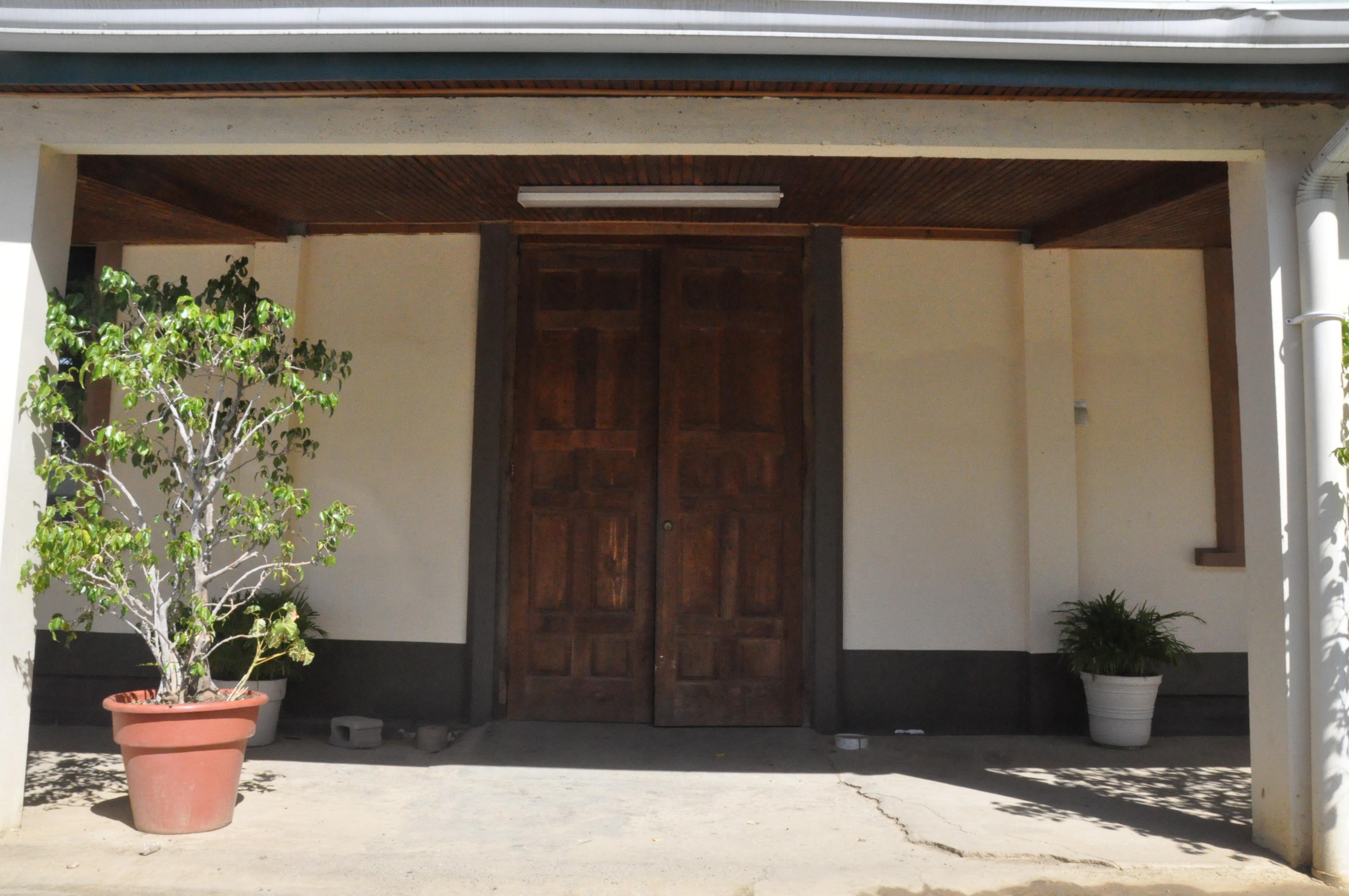 Outside - Side Door