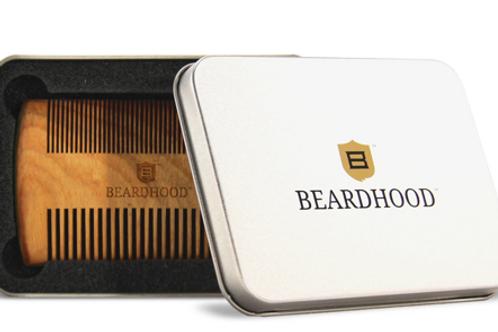 BEARDHOOD Sandalwood Beard Comb