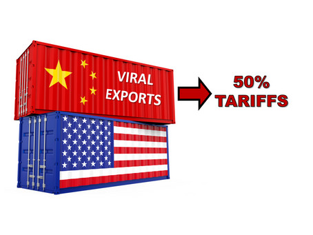 Trump to Impose a 50% Tariff on All Viruses Exported by China