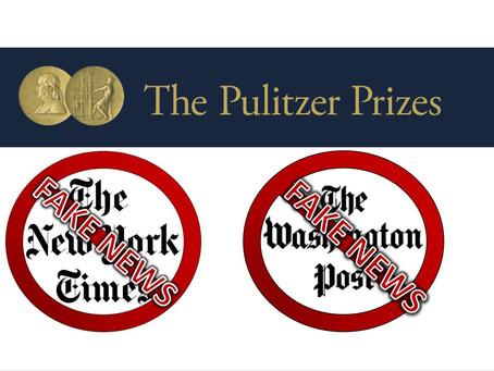 NYT & WaPo Win Pulitzer Prize For Their 'Journalistic Restraint' In Tara Reade Coverage