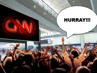 Airline Ticket Sales Soar After CNN Pulls Out of Airports