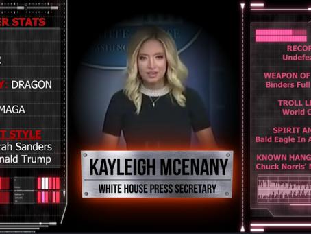 WH Press Secretary Smackdown