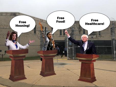Democrats Unveil Prototype Progressive Program; Looks A Lot Like Prison