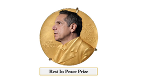 Andrew Cuomo Nominated for Nobel Prize After Helping Thousands of People Rest In Peace
