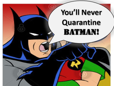 China Identifies Batman as Patient Zero for Coronavirus