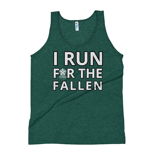 I RUN FOR THE FALLEN Tank Top