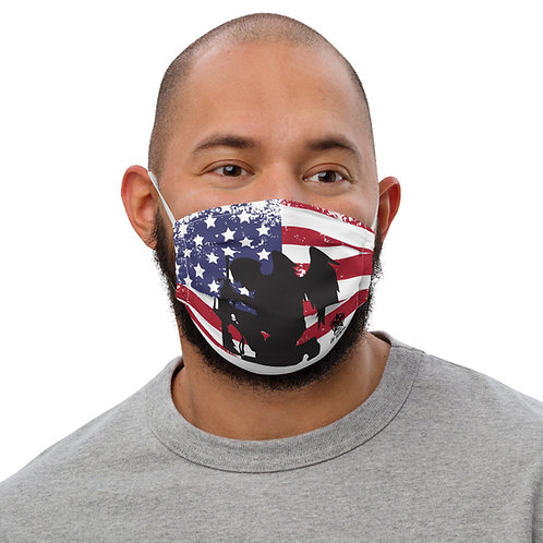 Honor The Fallen Face Mask