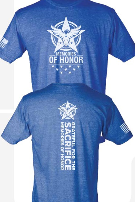 MEMORIES OF HONOR TEE