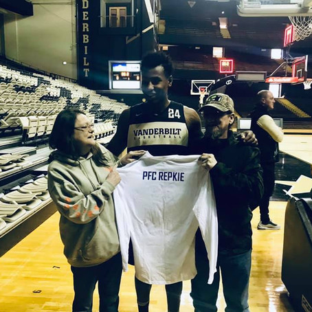 MoH Founder & Fallen Service Members Honored During Vanderbilt Salute to Service Basketball Game