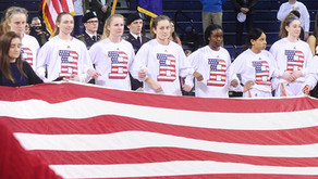 Bucknell University Women's Basketball Honored Fallen with Medals of Honor