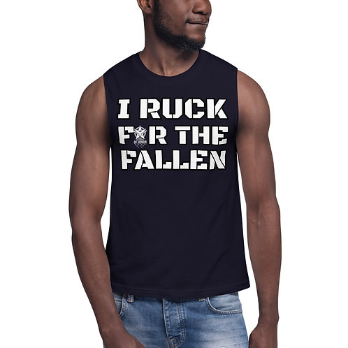 I RUCK FOR THE FALLEN Muscle Shirt