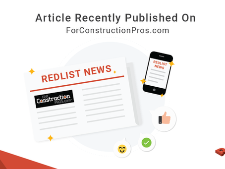 ForConstructionPros.com  article recently published